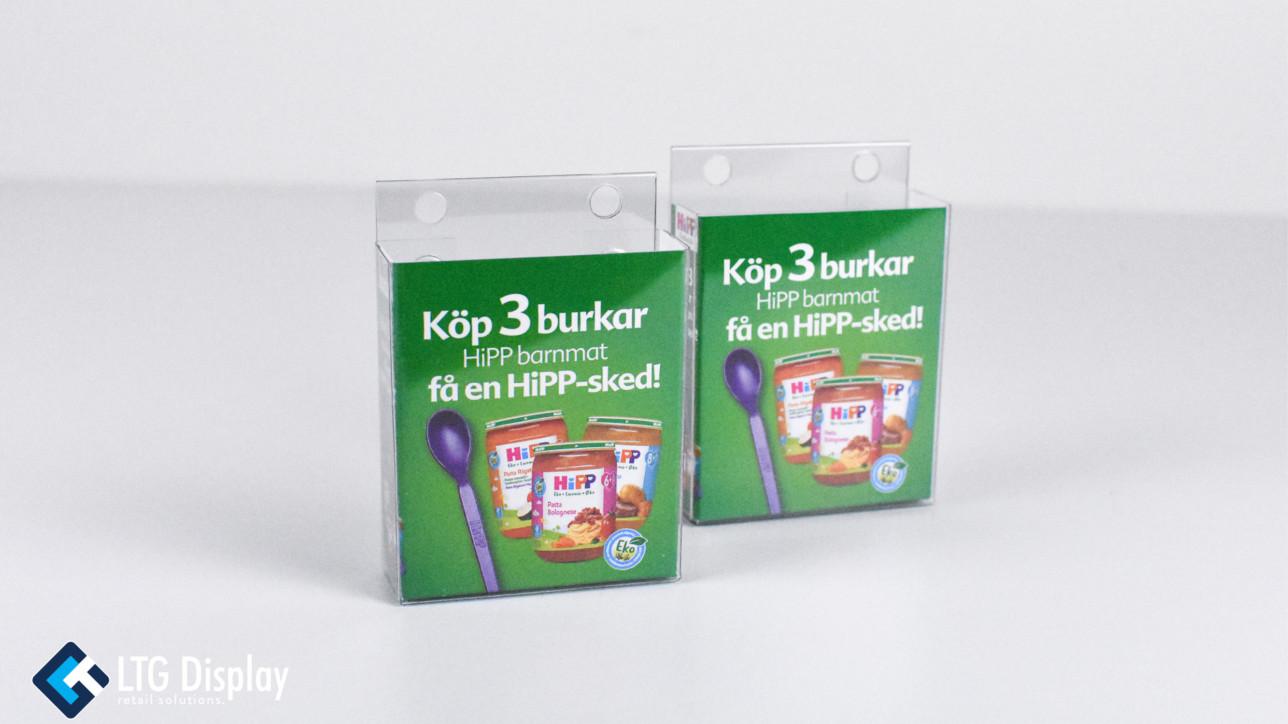 Ny dispenser för HiPP barnmatsskedar